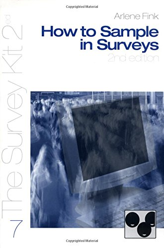 How to Sample in Surveys (Survey Kit Second Edition 7 7) from SAGE Publications, Inc