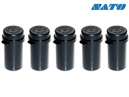 SATO Ink Roller - Pack of 5 - To Use in SATO KENDO 26, JUDO 26, NOR 3/9 Labelling Gun ... from SATO