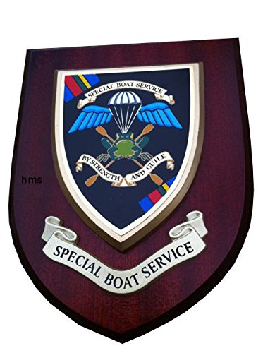 SBS Special Boat Service Wall Plaque Old Style from SBS