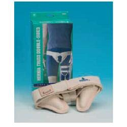 Professional Single sided Hernia Inguinal Truss Support Belt-RIGHT EXTRA LARGE from SDA DIRECT