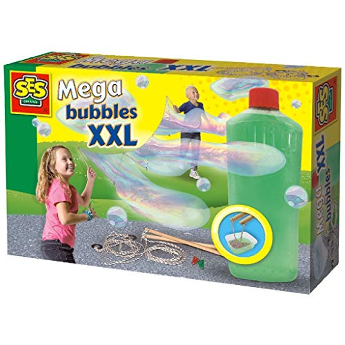 SES Creative 02252 XXL-mega Bubble Blower, Mixed Colours from SES Creative