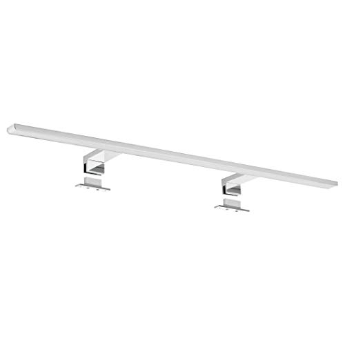 SEBSON LED Mirror Light 80cm Cabinet + Clip, Bathroom IP44, neutral white 4000K, Aluminium, 800x108x40mm, 15W, 1000lm from SEBSON