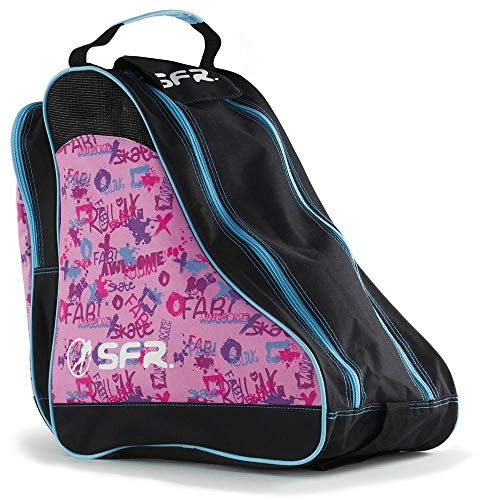 SFR Designer Ice/Roller Skate Carry Bag - Pink Graffiti from SFR