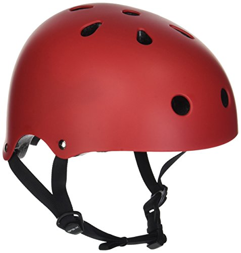 SFR Unisex adult Essentials Helmet, Red (Red), S/M 53-56cm from SFR