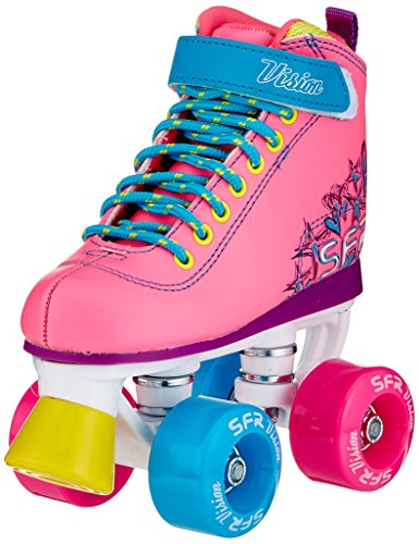 SFR Vision II Skates, Unisex Children, RS239, Multicoloured (Leopard), 37 EU from SFR