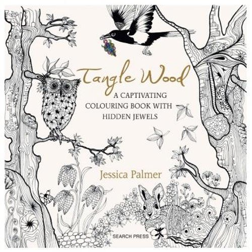 SG Education 9781782213536 Book, Tangle Wood Colouring Book from SG Education