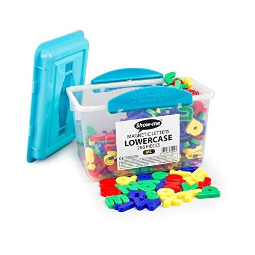 Show-me Magnetic Lowercase Letters, Tub of 286 from SG Education
