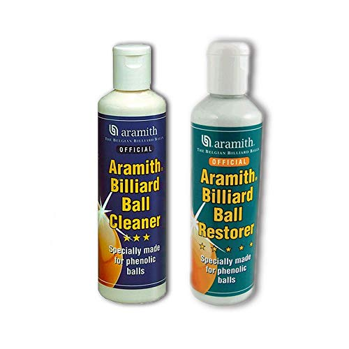 ARAMITH POOL,SNOOKER + BILLIARD BALLS RESTORER+ CLEANER** from SGL