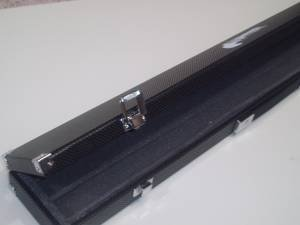 BLACK HARD 3 PIECE SNOOKER CUE CASE** from SGL