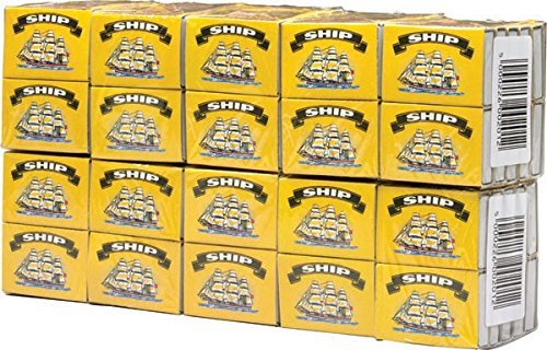 100 BOXS OF SHIP SAFETY MATCHES BRAND NEW from SHIP