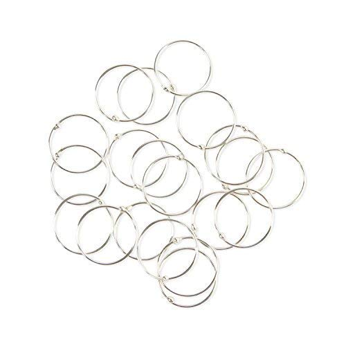 Pack of 20 VERY SMALL & EXTRA THIN 925 Sterling Silver Nose Rings size 8mm gauge 0.5mm from SILVER ROCK JEWELLERY