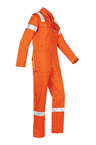 SIOEN 007VN2PIFC36R44 Aversa Flame retardant anti-static offshore coverall, Regular 44, Orange from SIOEN
