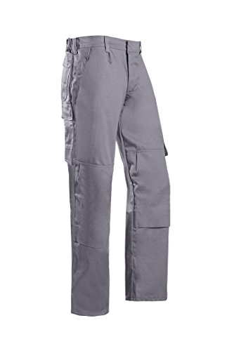 SIOEN 011VN2PFAM44P56 Zarate Trousers with ARC Protection, Short 56, Grey from SIOEN