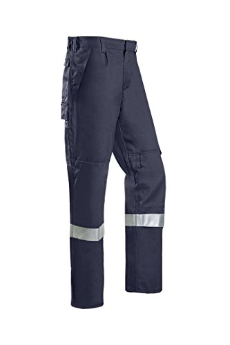 SIOEN 012VN2PFAB98R52 Corinto Offshore Trousers With Arc Protection, Regular 52, Navy Blue from SIOEN