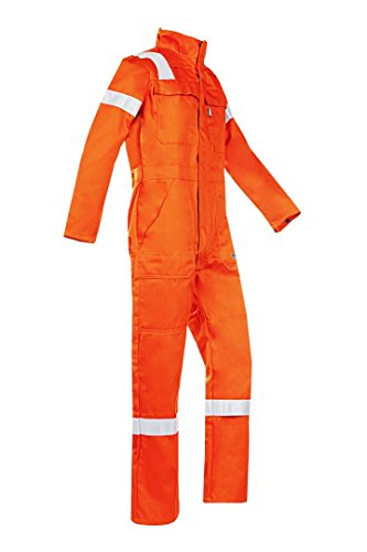SIOEN 017VN2PFAC36R62 Carlow Offshore Coverall With Arc Protection, Regular 62, Orange from SIOEN
