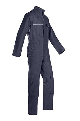 SIOEN 025VN2PF9B98R52 Savona Coverall with ARC Protection, Regular 52, Navy Blue from SIOEN