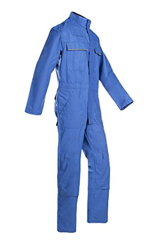 SIOEN 025VN2PF9H46R56 Savona Coverall with ARC Protection, Regular 56, Royal Blue from SIOEN