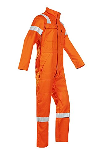 SIOEN 031VN2PF9C36R58 Couvin Coverall With Arc Protection, Regular 58, Orange from SIOEN