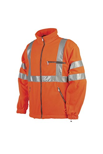SIOEN 131ZA2T01FC1L Reims Hi-Vis Fleece, Large, Orange from SIOEN