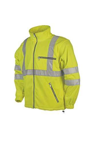 SIOEN 131ZA2T01FY1XS Reims Hi-Vis Fleece, X-Small, Yellow from SIOEN