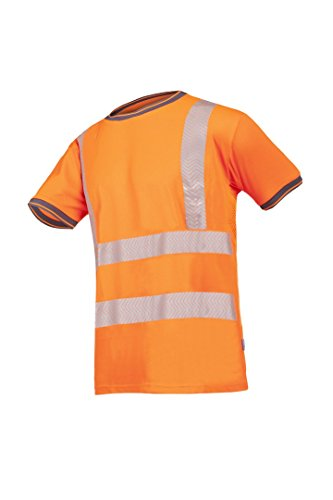 SIOEN 3889A2MC2FC1M Pulcini Hi-Vis Polo-Shirt, Medium, Orange from SIOEN