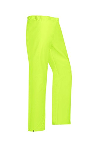SIOEN 4500A2F01FY1M Rotterdam (HV) Hi-Vis Rain Trousers, Medium, Yellow from SIOEN