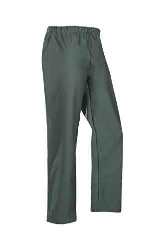SIOEN 4500A2FC1A414XL Rotterdam Rain Trousers, 4X-Large, Green Khaki from SIOEN