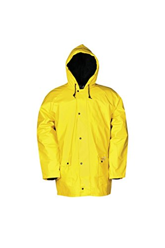SIOEN 4893A2FE0Y58L Dover Winter Rain Jacket With Detachable Lining, Large, Yellow from SIOEN