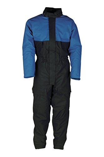 SIOEN 4990A2F01003L Lillehammer Winter rain coverall, Large, Navy/Royal Blue from SIOEN