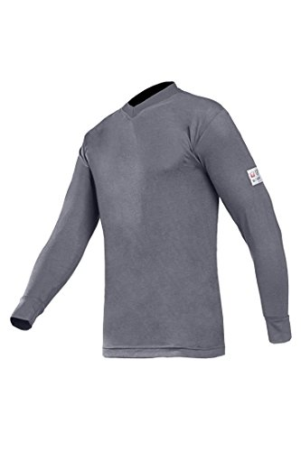 SIOEN 518AN2MPCM442XL Picton Flame Retardant, Anti-Static T-Shirt, XX-Large, Grey from SIOEN