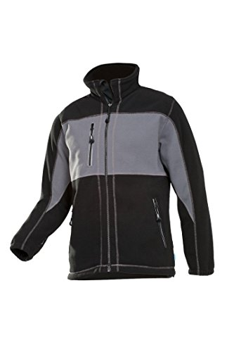 SIOEN 611ZA2T01312M Durango Fleece Jacket, Medium, Grey/Black from SIOEN