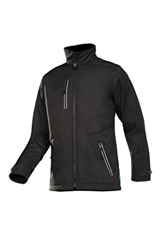 SIOEN 622ZA2TU2N15S Pulco Bonded Softshell Jacket, Small, Black from SIOEN