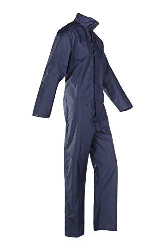SIOEN 697ZA2ES3B75S Hicks Rain coverall, Small, Navy Blue from SIOEN