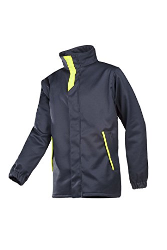 SIOEN 7230A2PI63313XL Bega Bomber jacket with ARC protection, 3X-Large, Blue/Hi-Vis Yellow from SIOEN
