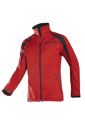 SIOEN 9834A2TU2128S Piemonte Softshell Jacket, Small, Red/Black from SIOEN