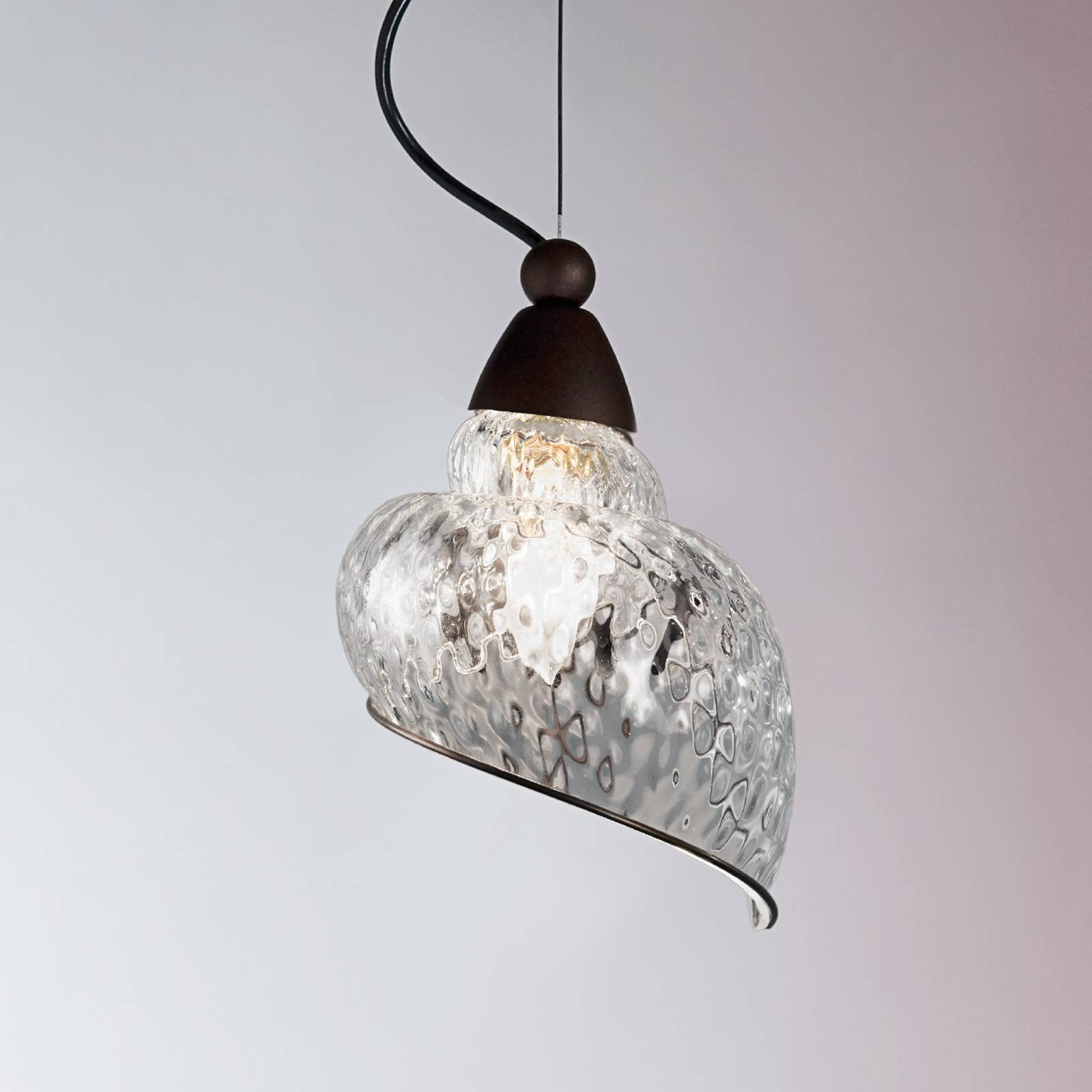 Chiocciola - one-bulb hanging light from Siru