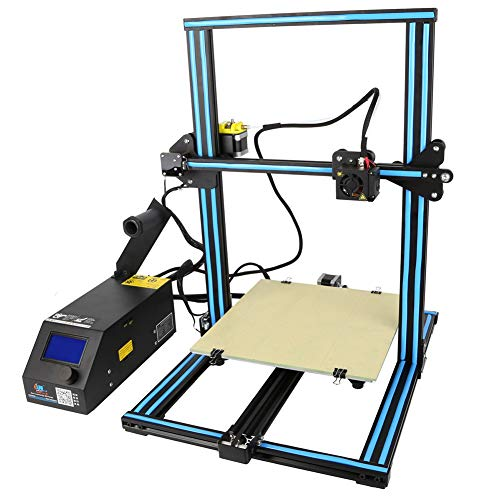 3D Printer Acrylic Prusa I3 CR-10 High Precision FDM Desktop DIY Kit 3D Printer(Assembly Instructions In SD Card) from SJSF L