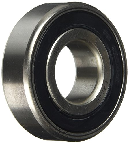 SKF W 6204-2RS1/W64 Deep Groove Ball Bearing, Stainless Steel from SKF