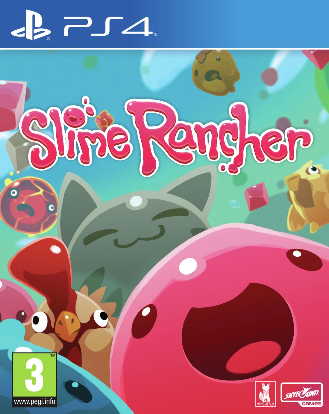 Slime Rancher PS4 Game from SLIME RANCHER