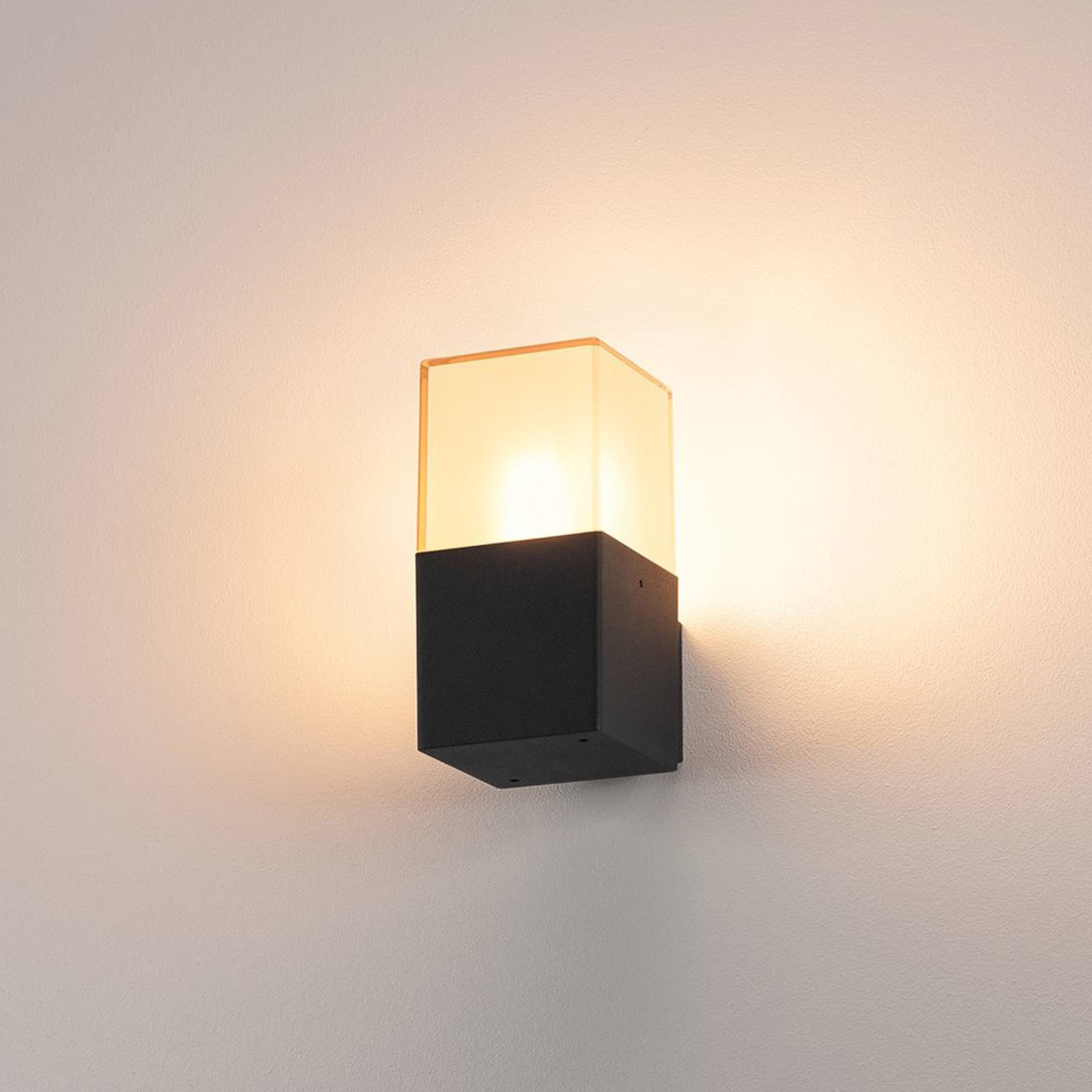 GRAFIT Square Exterior Wall Lamp from SLV
