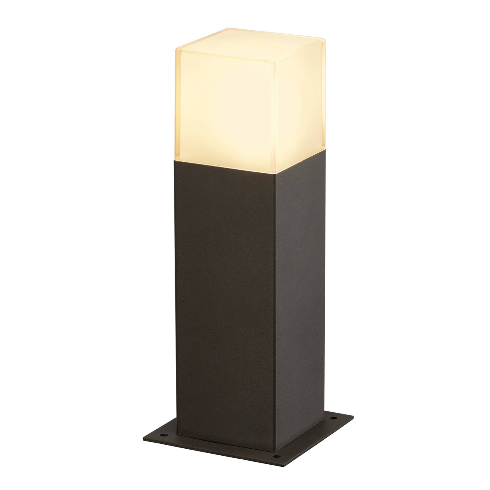 Grafit Contemporary Pillar Lamp from SLV