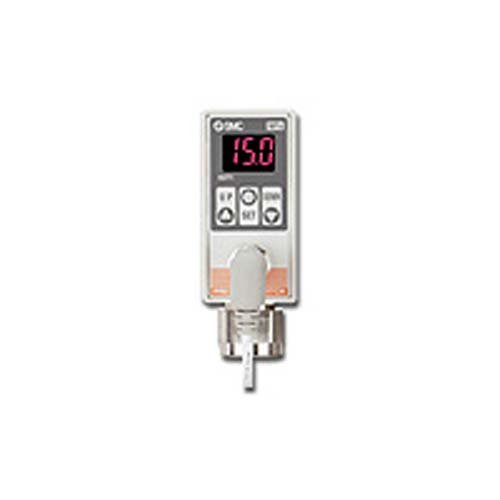 SMC ISE75-F02-65 Digital Pressure Switch for General Fluids, 2-Colour Display from SMC