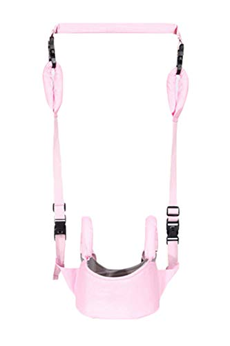 SMTD Unisex Winter Cotton Child Safety Walking Harness Boys&Girls Toddler Walking Assistant 4 in 1 Functional Safety Walking Harness Walker Walking Assistant for Baby Pink from SMTD