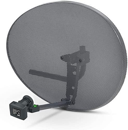 Sky Satellites Zone 2 Satellite Dish & Compatible SKY Q WIDEBAND LNB for Sky Q 1TB, Sky Q 2TB from SSL