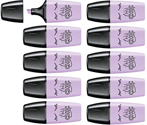 Highlighter - STABILO BOSS MINI Pastellove Lilac Haze Box of 10 from STABILO