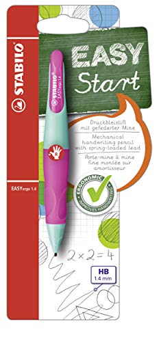 Handwriting Pencil - STABILO EASYergo EASYergo 1.4 Right Handed Turquoise/Neon Pink from STABILO