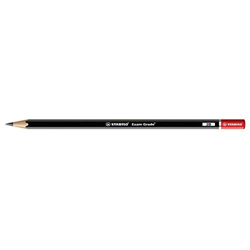 STABILO EXAM GRADE PENCILS DRAWING SKETCHING ART - 2B (Pack of 6) from STABILO