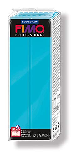 Fimo Professional 350 g Large Individual Blocks, Turquoise from STAEDTLER