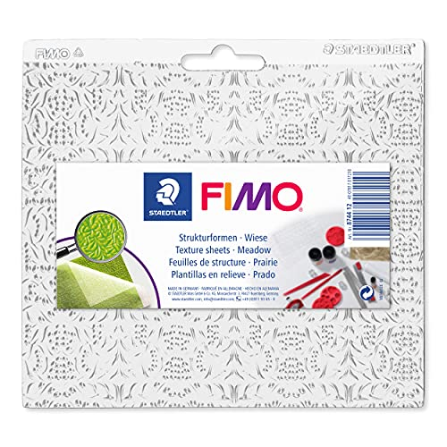Staedtler 8744 12 Fimo Accessories Structure Shape Meadow from STAEDTLER