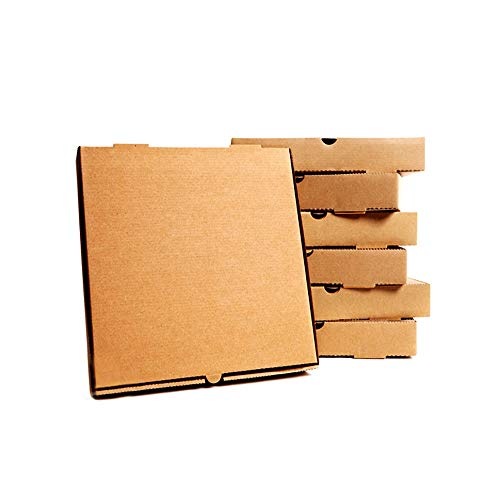 "25 x Pizza Boxes Plain Brown Postal Box Takeaway Style Box - 12"" - Brown from STAR SUPPLIES"